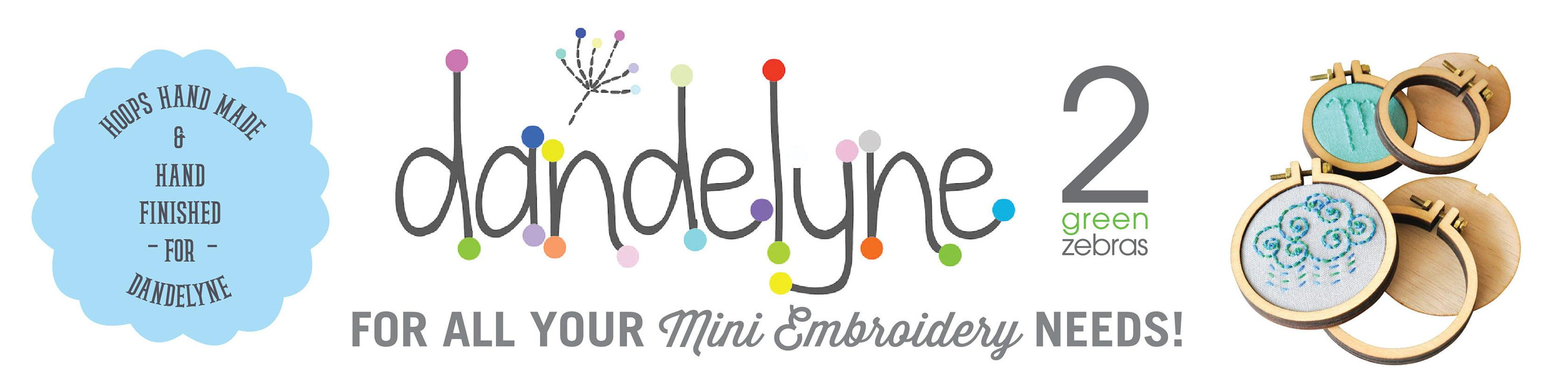 Dandelyne Mini-Hoops - Ministickringe