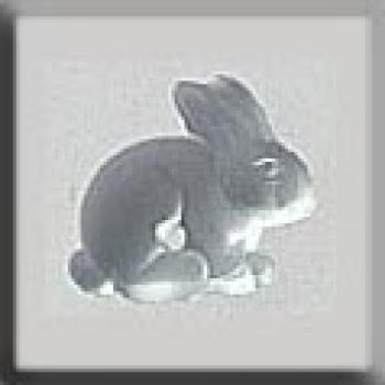 Mill Hill Treasures - 12135 Sitting Bunny Matte Crystal