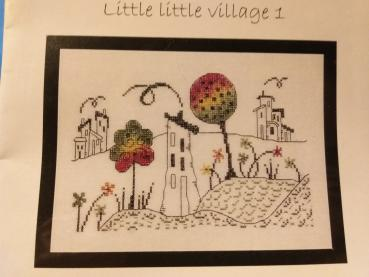"Maggi Co`S Village Stickvorlage "" Little Little Village I """