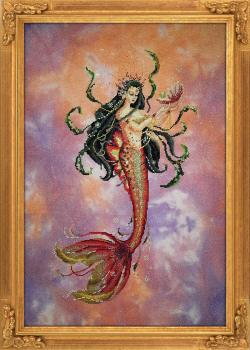 Bella Filipina Stickvorlage Pearl of the Orient Seas