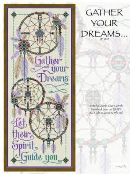 "Joan Elliott Stickvorlage "" Gather Your Dreams """