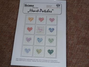 Unisono Stickvorlage Mini- Patches Heart Patches