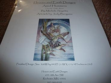 "Heaven And Earth Designs Stickvorlage "" Amid Hummers "" von Jody Bergsma"