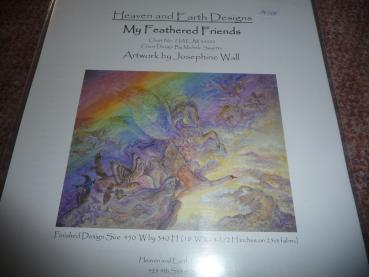 "Heaven And Earth Designs Stickvorlage "" My Feathered Friends "" von Josephine Wall"