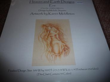 "Heaven And Earth Designs Stickvorlage "" Eva "" von Karen Middleton"