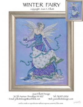"Joan Elliott Stickvorlage "" Winter Fairy """