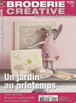 Broderie Creative Mains & Merveilles Point de Croix Nr. 50