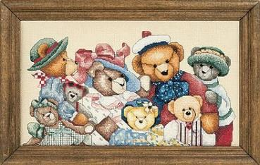 Lanlynn Stickvorlage Just a Chart - Bear Collector von Alma Lynn