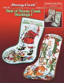 "Stoney Creek Stickvorlage Book 387 "" Best of Stoney Creek Stockings I """