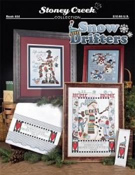 "Stoney Creek Stickvorlage Book 444 "" Snow Drifters """