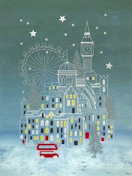 Bothy Threads - Stickpackung Alison McGarrigle - Snowy London