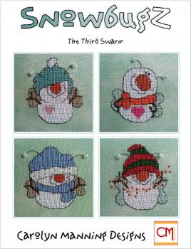 "Carolyn Manning Stickvorlage ""Snowbugz - The third swarm"""