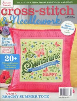 Stickzeitschrift Cross - Stitch & Needlework July 2014 mit Nora Corbett Mermaid