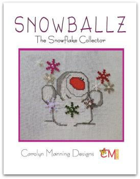 "Carolyn Manning Stickvorlage ""Snowballz - The Snowflake Collector"""