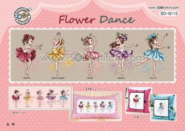 "Sodastitch Stickvorlage ""Flower Dance"""