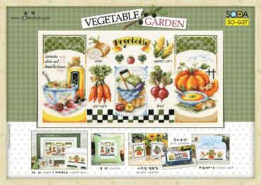 "Sodastitch Stickvorlage ""Vegetable Garden"""