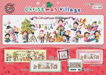 "Sodastitch Stickvorlage ""Christmas Village"""