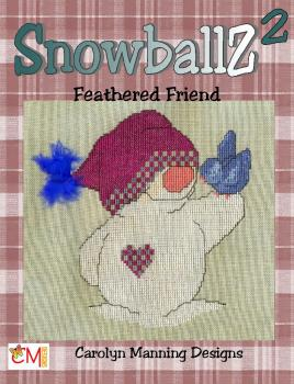 "Carolyn Manning Stickvorlage ""Snowballz 2 - Feathered Friends"""
