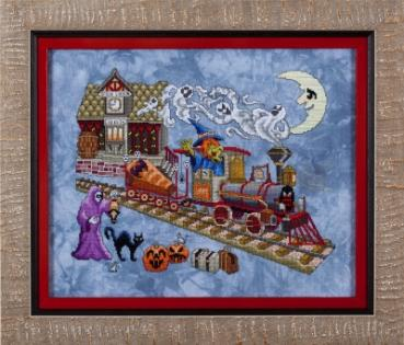 Glendon Place Stickvorlage - Eerie Express -