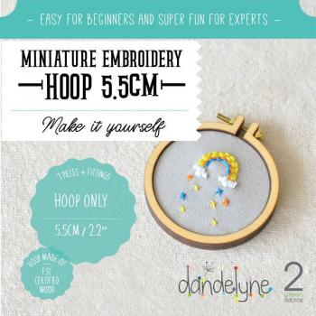 Dandlyne Mini Hoop 5,5cm * Mini Stickring *