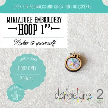 Dandlyne Mini Hoop 2,5cm * Mini Stickring *