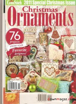 Just Cross Stitch Christmas Ornaments Issue 2011