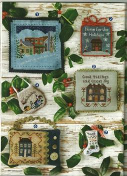 Just Cross Stitch Christmas Ornaments Issue 2012