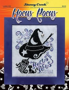 "Stoney Creek Stickvorlage Leaflet 408 "" Hocus Pocus """