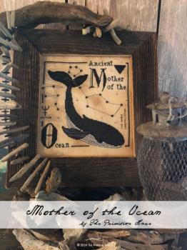 "Primitive Hare Stickvorlage "" Mother of the Ocean """