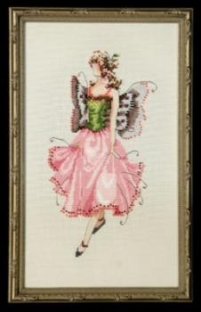 "Nora Corbett Stickvorlage ""Pixie Couture Collection - Rose"""