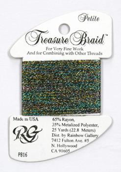 Treasure Braid PB16 - Dark Multi