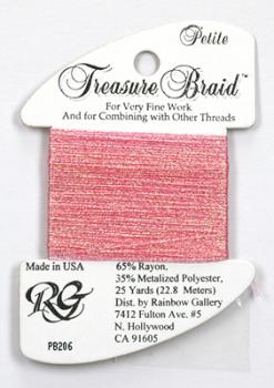 Treasure Braid PB206 - Pink Shimmer
