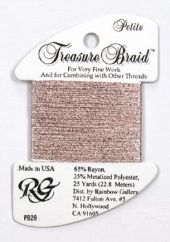 Treasure Braid PB28 - Powder Pink