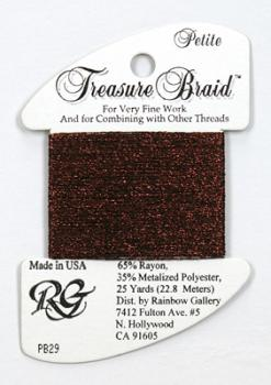 Treasure Braid PB29 - Burgundy