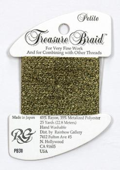 Treasure Braid PB30 - Black Gold