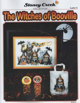 "Stoney Creek Stickvorlage Leaflet 075 "" The Witches of Booville """