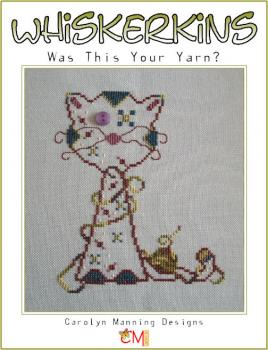 "Carolyn Manning Stickvorlage ""Whiskerkins - Was this yout yarn?"""