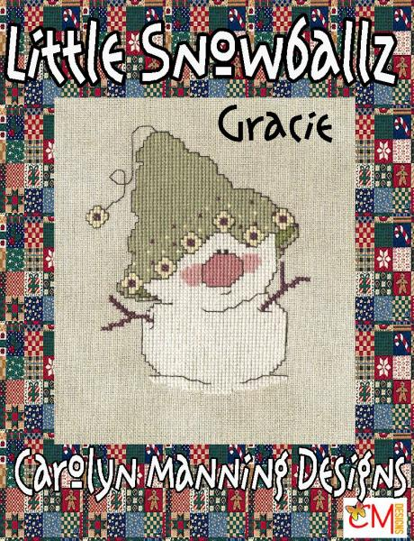 "Carolyn Manning Stickvorlage ""Little Snowballs - Gracie"""