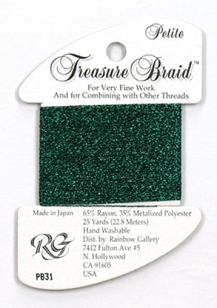Treasure Braid PB31 - Evergreen