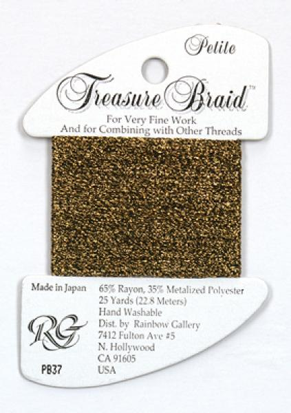 Treasure Braid PB37 - Dark Antique Gold