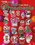 "Leisture Arts Stickheft "" 116 Mini Cross Stitch Ornaments  """