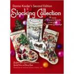 "Leisture Arts Stickbuch "" Donna Kooler`s Second Edition Stocking Collection """