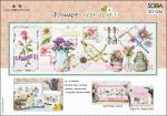 "Sodastitch Stickvorlage ""Flower Garden"""