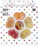 Rico Diy Perlenset für Kinder / Jewelry Kit gelb / orange 16X20X4CM